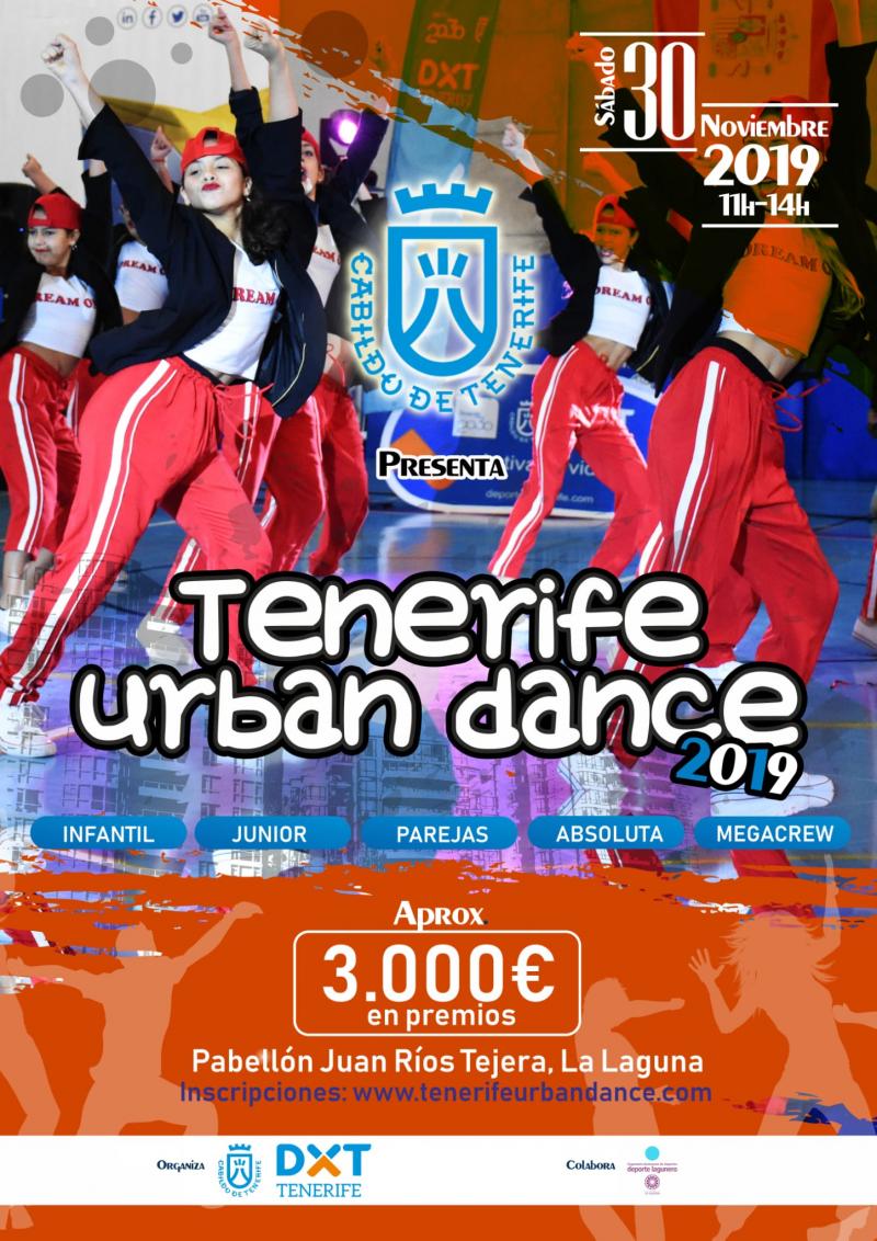 II CAMPEONATO TENERIFE URBAN DANCE  - Inscríbete