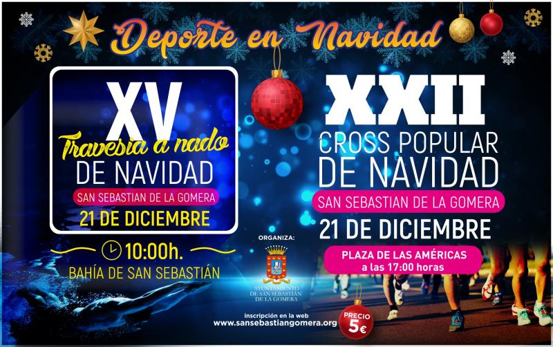 XXII CROSS POPULAR DE NAVIDAD  SAN SEBASTIÁN DE LA GOMERA  - Inscríbete