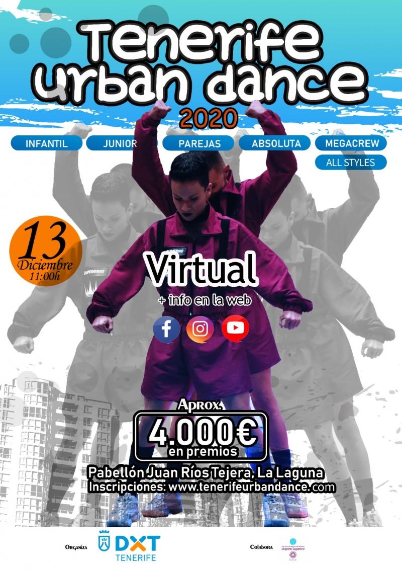 III CAMPEONATO TENERIFE URBAN DANCE  BLOQUE I - Inscríbete