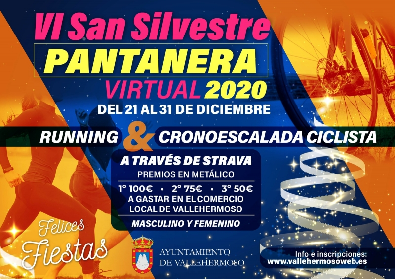 SAN SILVESTRE PANTANERA VIRTUAL 2020 - Inscríbete