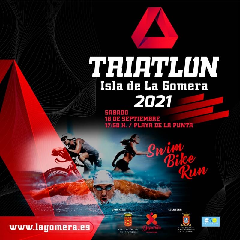 TRIATLON ISLA DE LA GOMERA 2021 - Inscríbete