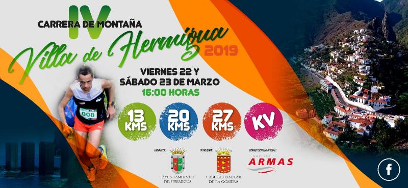 IV CARRERA DE MONTAÑA VILLA DE HERMIGUA  - Inscríbete