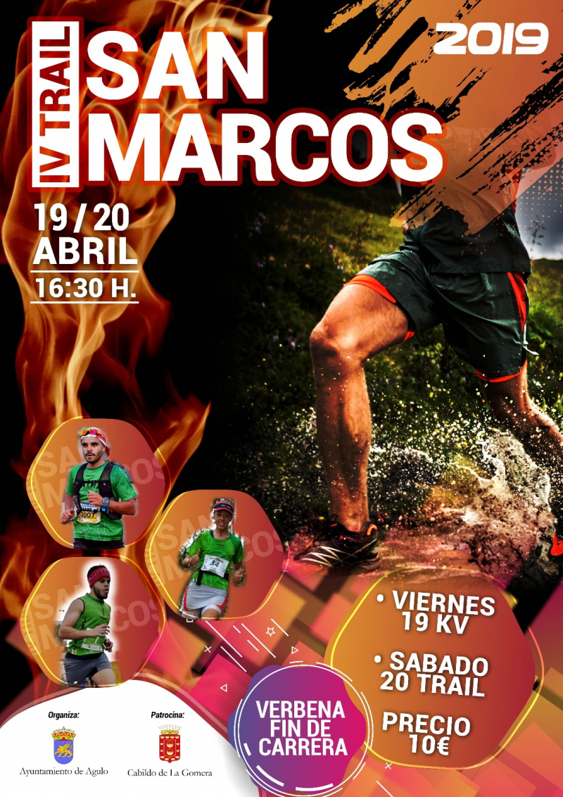 IV TRAIL SAN MARCOS   - Inscríbete
