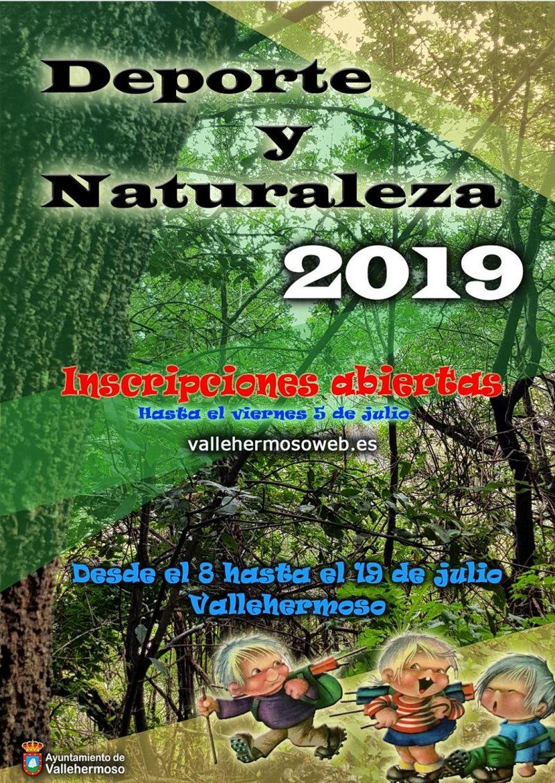 DEPORTE Y NATURALEZA VALLEHERMOSO 2019  CHIPUDE - CERCADO - ALOJERA - Inscríbete
